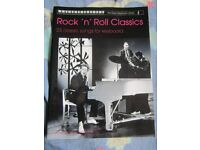 Rock 'n' Roll Classic songs for Keyboard song book