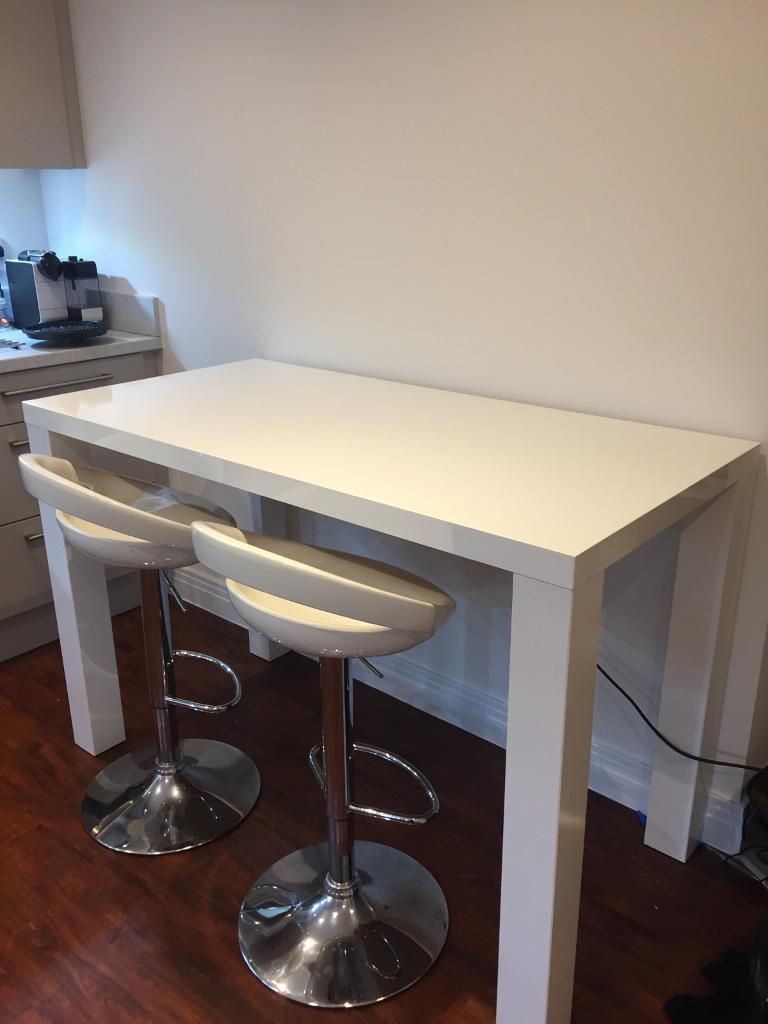 Ikea Toresund Table and two bar stools | in Stevenage, Hertfordshire |  Gumtree