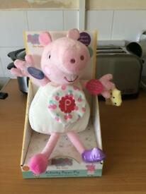 Peppy pig baby's soft toy brand new