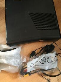 Xbox 360 slim 250 only used few times