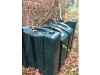 Oil storage container for oil fired central heating. Good condition and empty and out of use