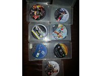 7 x playstation 3 games