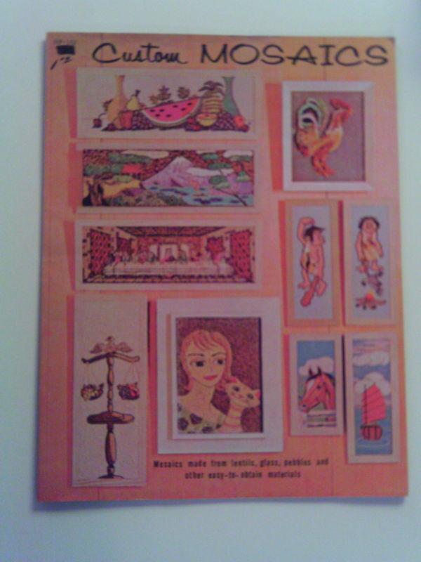 Vintage Custom Mosaics - Craft Instruction Booklet 1963