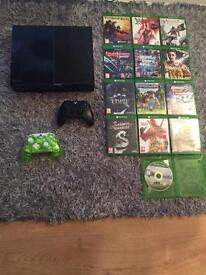 Xbox one bargain 13 games 2 controllers
