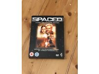 Spaced DVD. Simon pegg. Series 1 & 2 and bonus disc