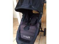 Baby jogger city mini GT stroller black