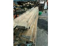 Canadian pine timber