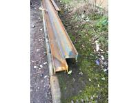 Builders Steel Beams and Lintels Made To Measure.