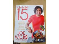 Joe Wicks Cook Book.