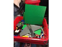 LEGO and Lego book