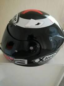 Lorenzo helmet xlite dark visor size large