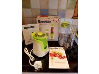 Breville VBL062 Blend-Active Blender - 600 ml - White/Green. New never Used. See Photo.