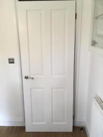 Door 4 panel soft wood