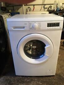 Curry's Essentials C812WM17, Washing Machine, 8KG, 1200RPM, Polar White