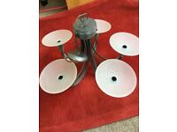 5 plate Chandelier