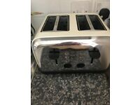 Next Cream 4 Slice Toaster