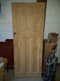Wooden Internal 6 Panel Door