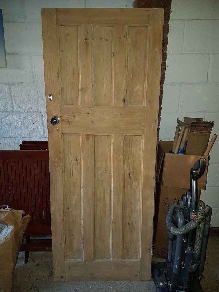 Wooden Internal 6 Panel Door In St Albans Hertfordshire