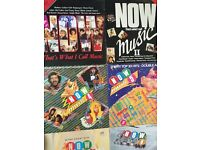 Job Lot vinyl NOW THAT'S WHAT I CALL MUSIC original vinyl LP 1 - 12 COMPLETE SET