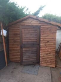 Wooden shed 8x7