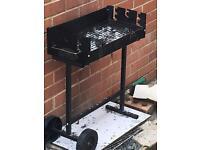 Small barbecue stand