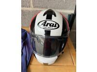 Arai motorcycle helmet size large