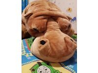 Hippo... soft toy, 175cm long