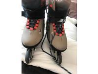 Bauer inline skates size 8 like new