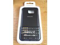 Samsung Genuine Original Case for Galaxy S7 Keyboard Cover - Black ej-cg930ubegg