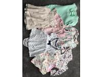 Baby girl clothes bundle 0-3months