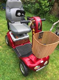 Shoprider deluxe mobility scooter in excellent condition