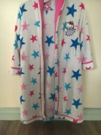 Hello Kitty Dressing Gown 9-10