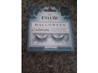 BNIB Eylure London Halloween Carnival Exagerated False Eyelashes