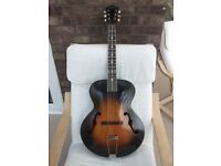 Gibson Cromwell:Vintage 1938:Acoustic:Guitar:Road worn.
