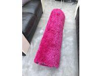 Fuscia large rug