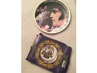 Collectable plates elvis and royal celebration plate