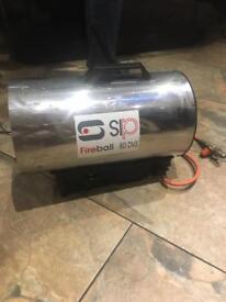 Fireball heater
