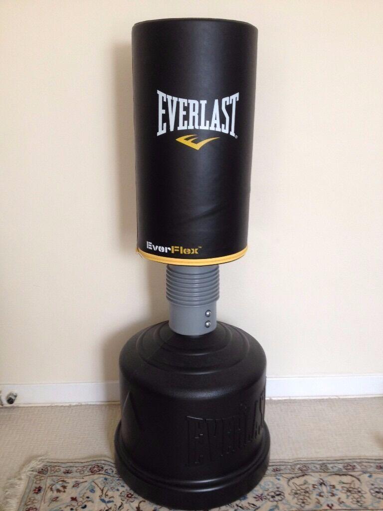 Everlast Everflex Freestanding Punch Bag Boxing Heavy As New