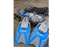Us divers Snorkelling kit kids