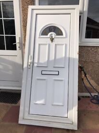 DOUBLE GLAZED FRONT DOOR