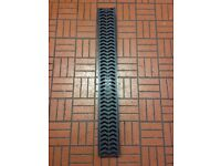 Shallow Polydrain Channel x 1m HDPE Grid CDP1000