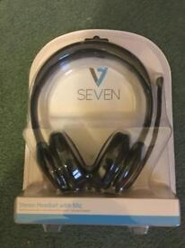 V7 - Stereo headset with Mic