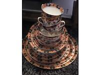 1930's Art Deco 30+ pieces of mixed vintage tableware- Royal Albion 'Sandon' & J.M & Co. 'Devon'