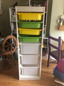 Ikea Trofast storage unit with boxes. Free to collect