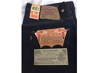 Levi 501 jeans new with tags