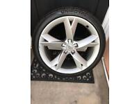 "1xGenuine Audi A5""A6"" 19inch Alloy Wheel With Tyre"