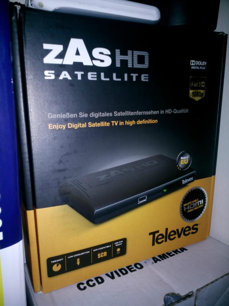 High Definition Satellite TV - Hundreds of Extra Channels Televas Zas