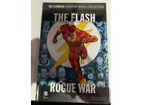 The flash rogue war DC graphic novel hard back
