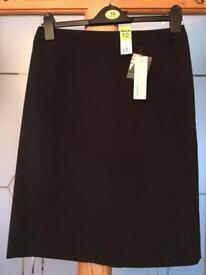 Black skirt size 12 BNWT