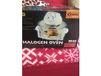 Halogen Oven as new used Once